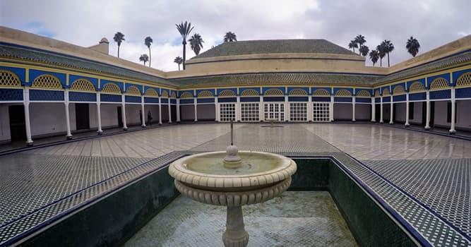 Historia Pregunta Trivia: ¿A finales de qué siglo fue inaugurado el Palacio de la Bahía en Marruecos?