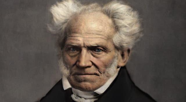 Sociedad Pregunta Trivia: ¿En qué país nació el filósofo Arthur Schopenhauer?