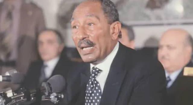 Historia Pregunta Trivia: ¿Cómo se llama la viuda del expresidente de Egipto Anwar Sadat?