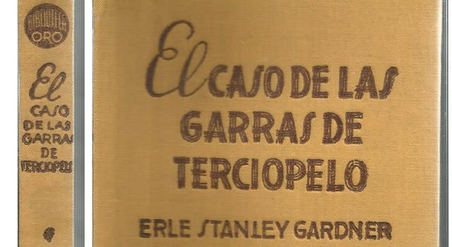 Cultura Pregunta Trivia: ¿Cómo se llamaba el personaje de ficción de las primeras novelas policíacas de Erle Stanley Gardner?