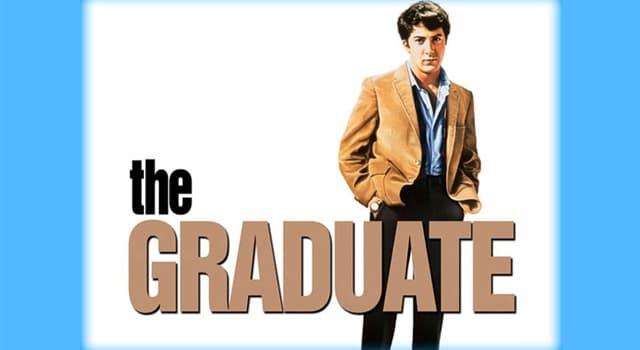 """Películas Pregunta Trivia: ¿Cuál es el tema musical más popular de la película """"El graduado""""?"""