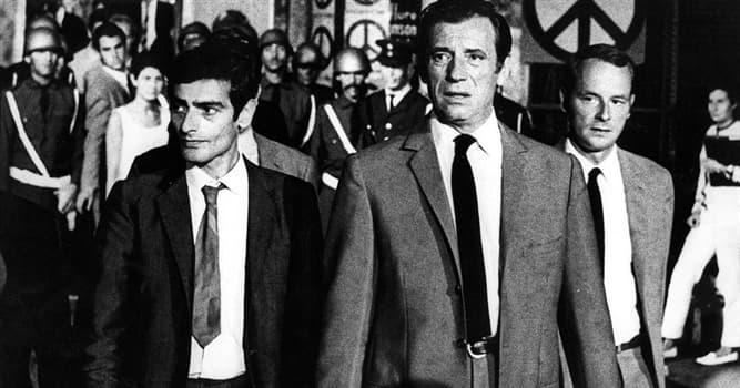 Películas Pregunta Trivia: ¿Cuál es el título de la película de 1969 protagonizada por Yves Montand basada en la novela de V. Vassilikos?