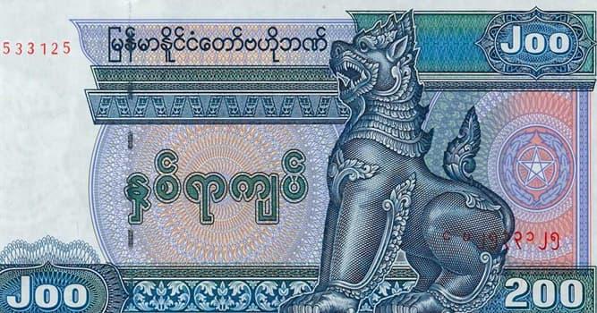 Sociedad Pregunta Trivia: ¿Cuál es la moneda de Birmania?