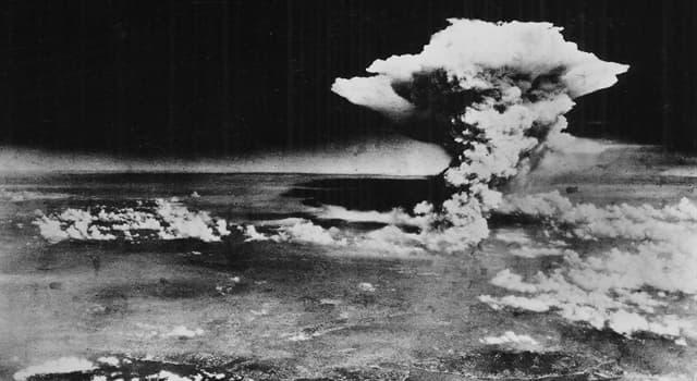 Historia Pregunta Trivia: ¿Cuál fue la segunda ciudad arrasada por una bomba atómica?