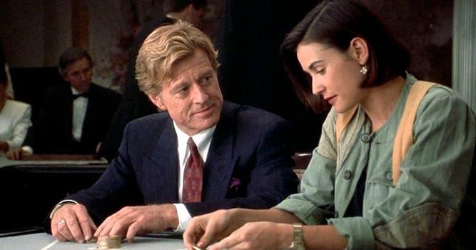 Películas Pregunta Trivia: ¿Cuánto dinero le ofreció Robert Redford a Demi Moore por una noche, en la película Una proposición indecente?