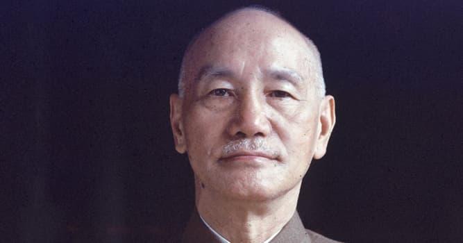 Historia Pregunta Trivia: ¿De qué nacionalidad era el militar y estadista Chiang Kai-shek?