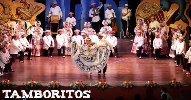 """Cultura Pregunta Trivia: ¿De qué país es el """"Tamborito"""" un género musical y su baile autóctono?"""