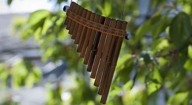 """Cultura Pregunta Trivia: ¿De qué país es originario el instrumento musical llamado """"Siringa""""?"""