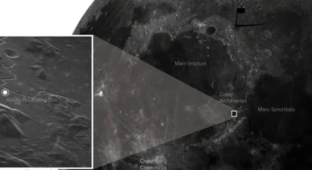 Сiencia Pregunta Trivia: ¿Desde dónde se pudo obtener una foto de la superficie lunar con la mayor resolución tomada en 2021?