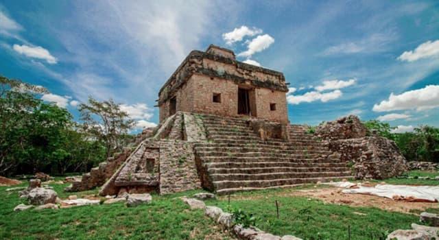 Geografía Pregunta Trivia: ¿Dónde está ubicado el sitio arqueológico Dzibilchaltún?