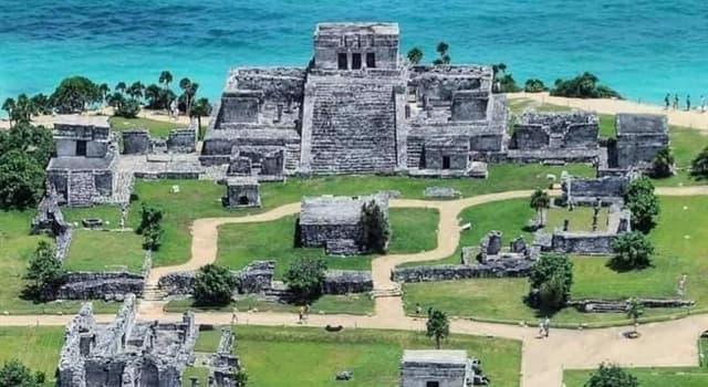 Geografía Pregunta Trivia: ¿Dónde se localiza la zona arqueológica de Tulum?