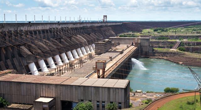 Geografía Pregunta Trivia: ¿En la frontera de qué países está situada la Presa Hidroeléctrica de Itaipú?