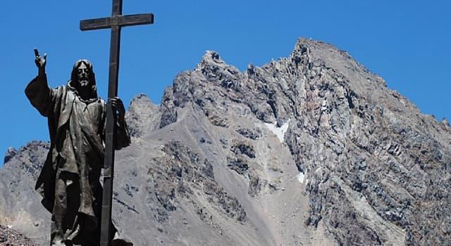 Geografía Pregunta Trivia: ¿En la frontera de qué países está ubicado el monumento de la imagen?