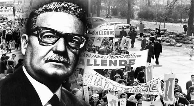 Historia Pregunta Trivia: ¿En qué año fue derrocado el presidente de Chile Salvador Allende?