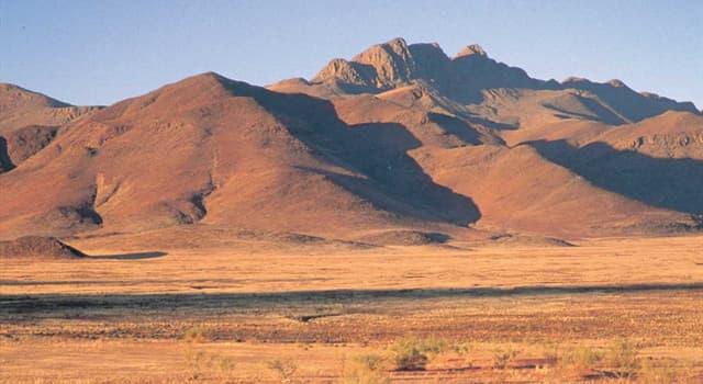 Geografía Pregunta Trivia: ¿En qué continente se encuentra el desierto de Namib?