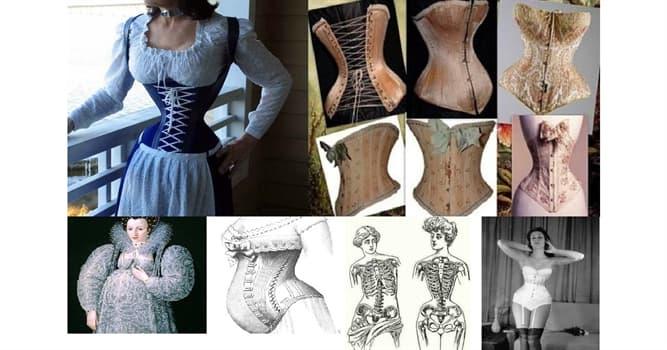 Cultura Pregunta Trivia: ¿En qué época se hizo popular el corsé?