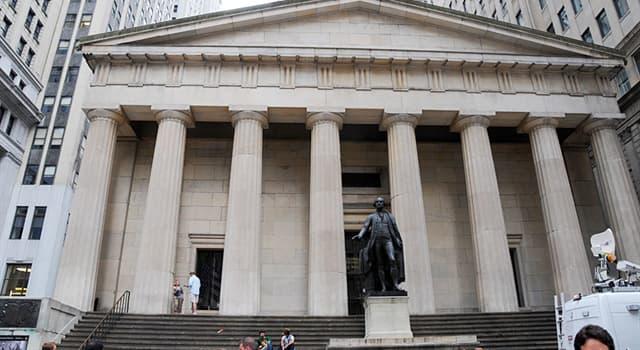 Geografía Pregunta Trivia: ¿En qué lugar de los Estados Unidos de Norteamérica está ubicado el Federal Hall?