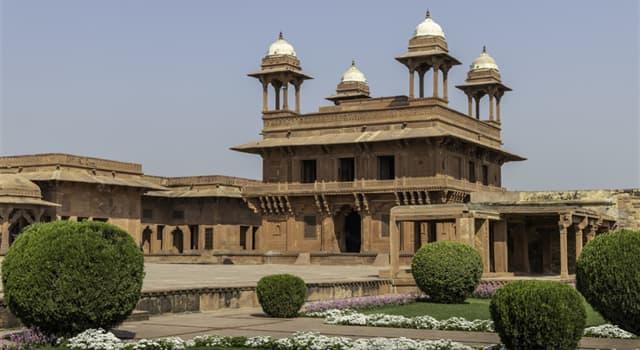 Geografía Pregunta Trivia: ¿En qué país está la ciudad abandonada de Fatehpur Sikri?