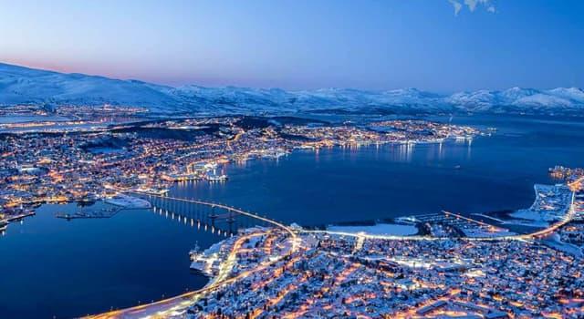 Geografía Pregunta Trivia: ¿En qué país está ubicada la ciudad llamada Tromso?
