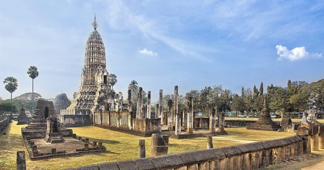 Geografía Pregunta Trivia: ¿En qué país está ubicado el Parque Histórico Si Satchanalai?