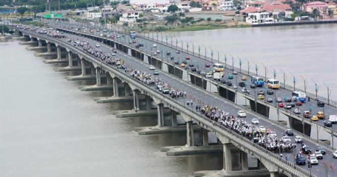 Geografía Pregunta Trivia: ¿En qué país está ubicado el Puente de la Unidad Nacional?