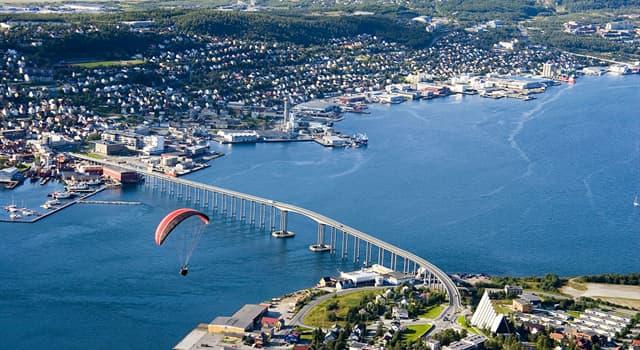 Geografía Pregunta Trivia: ¿En qué país está ubicado el Puente de Tromsø?