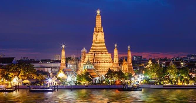 Geografía Pregunta Trivia: ¿En qué país está ubicado el Templo Wat Arun o Templo del Amanecer?