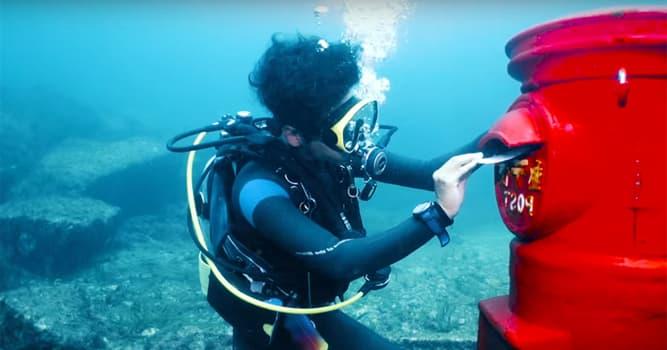 Cultura Pregunta Trivia: ¿En qué país se encuentra el buzón de correo submarino más profundo del mundo?