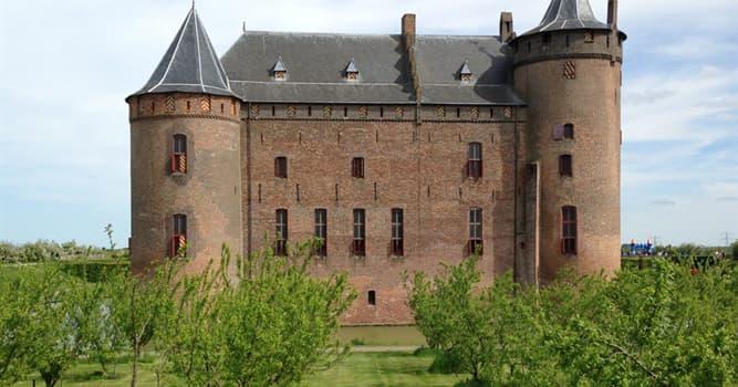 Geografía Pregunta Trivia: ¿En qué país se encuentra el Castillo de Muiderslot?