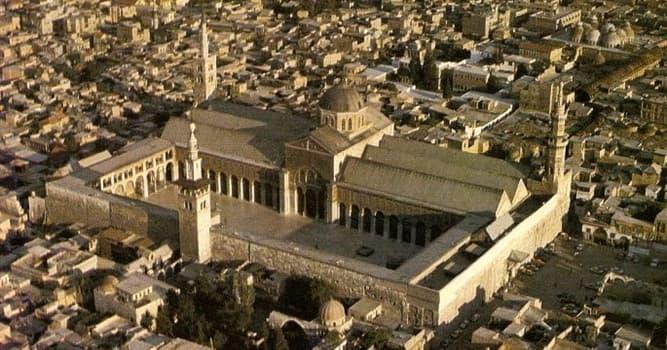 Cultura Pregunta Trivia: ¿En qué país se encuentra la Mezquita de los Omeyas?