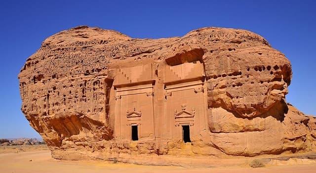 """Geografía Pregunta Trivia: ¿En qué país se localiza el yacimiento arqueológico llamado """"Mada'in Saleh""""?"""