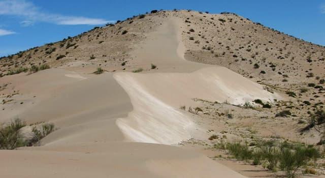 Geografía Pregunta Trivia: ¿En qué país sudaméricano se encuentra la duna Federico Kirbus?