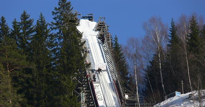Deporte Pregunta Trivia: ¿En qué país se encuentra el trampolín de Vikersundbakken, uno de los más largos del mundo?