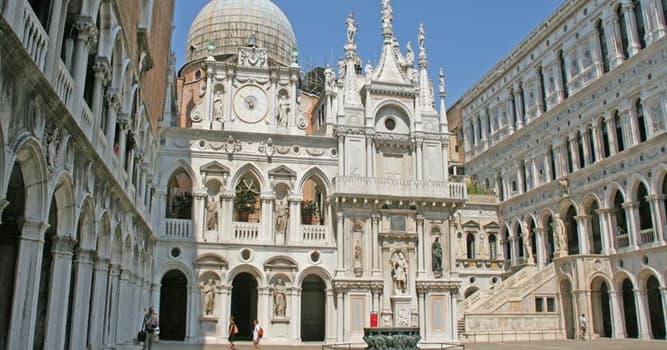 Geografía Pregunta Trivia: ¿En qué ciudad italiana está el Palacio Ducal?