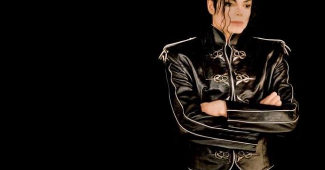 Kultura Pytanie-Ciekawostka: Jak ma na drugie imię Michael Jackson?