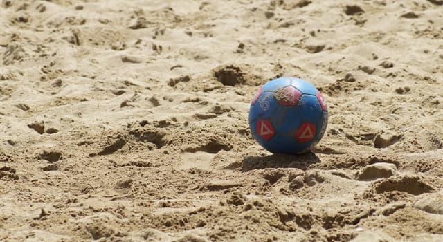 Deporte Pregunta Trivia: ¿En qué país se originó el Fútbol playa?