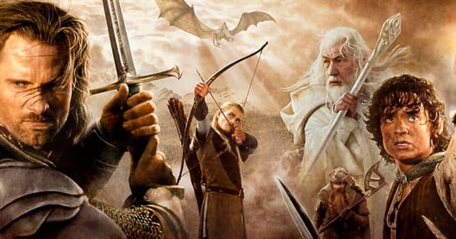 """Películas Pregunta Trivia: ¿Cuál de las siguientes películas no está incluida en la trilogía de """"El Señor de los Anillos""""?"""