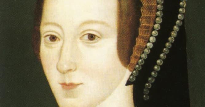 historia Pytanie-Ciekawostka: Kto był córką Anny Boleyn?