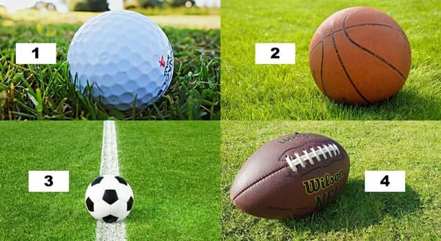 Deporte Pregunta Trivia: ¿En cuál de estas imágenes hay un balón de fútbol americano?