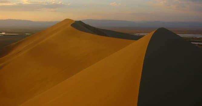 Geografía Pregunta Trivia: ¿Qué son las dunas cantoras?