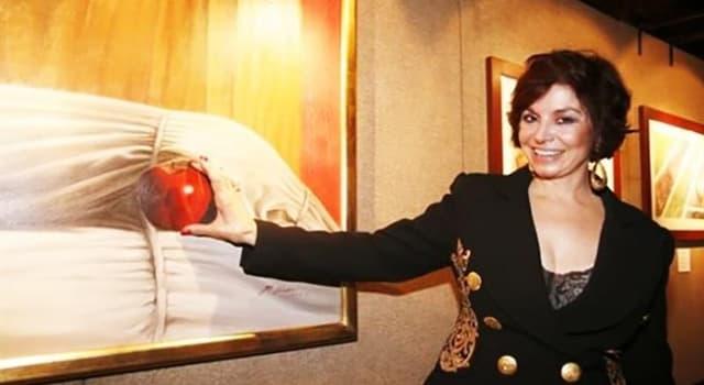 Cultura Pregunta Trivia: ¿Por qué el tema central en la obra de Martha Chapa son las manzanas?
