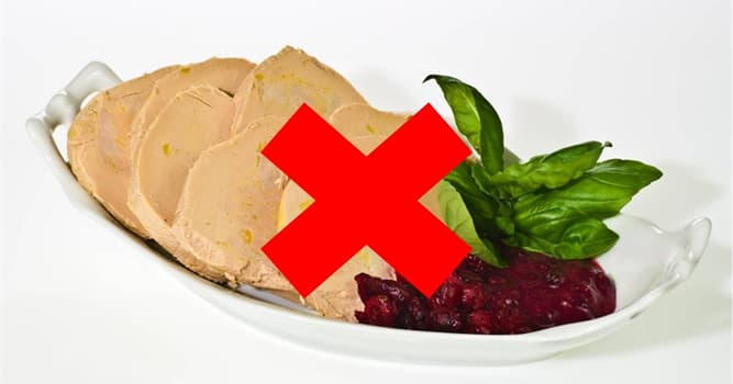 Cultura Pregunta Trivia: ¿Por qué se prohibió la producción y venta de foie gras en algunos países?