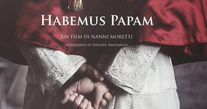 """Películas Pregunta Trivia: ¿Qué actor francés dio vida a un Papa que huye del Vaticano en """"Habemus Papam""""?"""