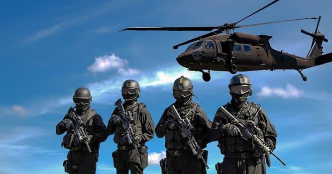 Sociedad Pregunta Trivia: ¿Qué color es usado en uniformes militares para proveer camuflaje?
