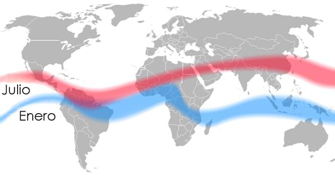 Naturaleza Pregunta Trivia: ¿Qué es la Zona de Convergencia Intertropical, ZCIT?