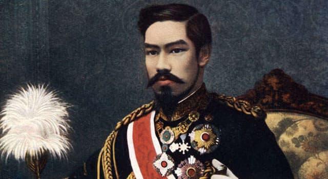 Historia Pregunta Trivia: ¿Qué número de emperador ocupó Meiji Tennō de acuerdo con el orden tradicional de sucesión imperial Japonés?