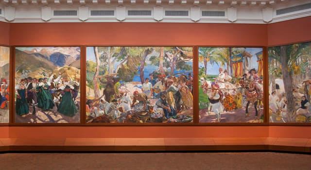 """Cultura Pregunta Trivia: ¿Qué pintor español fue el autor de una serie de 14 grandes cuadros titulada """"Visión de España""""?"""