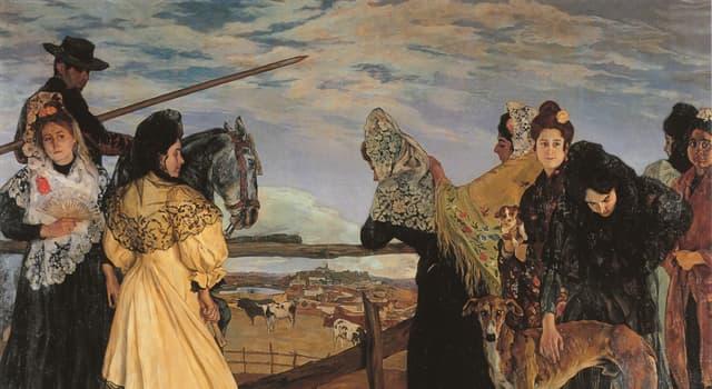 """Cultura Pregunta Trivia: ¿Qué pintor español fue el autor del cuadro """"Vísperas de la corrida"""" que aparece en la imagen?"""