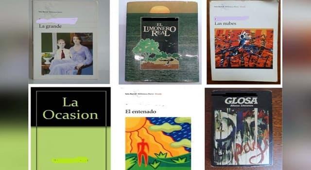 Cultura Pregunta Trivia: ¿Quién es el autor de novelas como El entenado, La grande y Glosa?