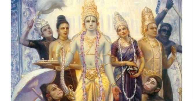 """Cultura Pregunta Trivia: ¿Quién es el personaje principal de la epopeya hindú """"Ramayana""""?"""